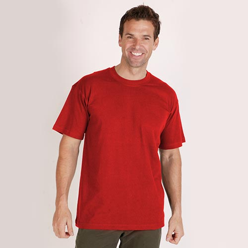 2-PACK T-Shirt Crew Neck 150g-TTA02-red