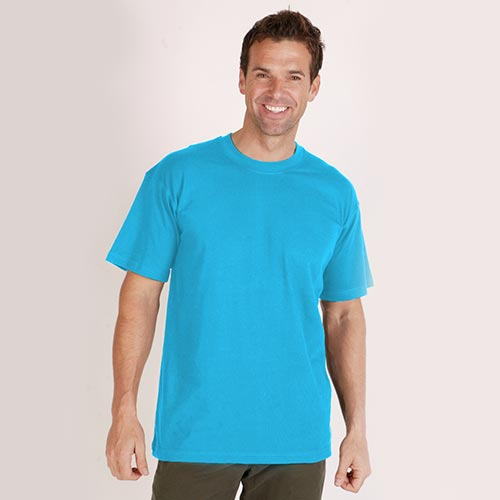 2-PACK T-Shirt Crew Neck 150g-TTA02-sky