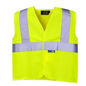 Kids Hi-Vis Vest Single Banded - WWCK01