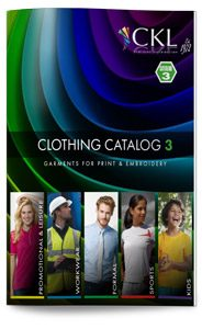 CKL Catalogue 3 - Garments for print & embroidery
