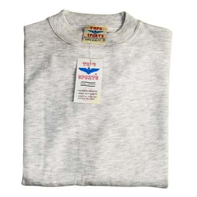 Sweat Shirt Crew Neck Long Sleeve - VSSA86-light-grey