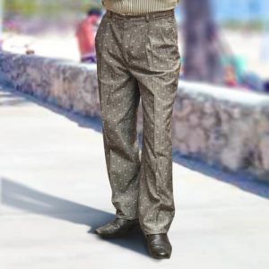 65% Polyester / 25% Viscose / 10% Mix Fibres, Italian Design Liboro, Mens Trousers VTRA70