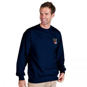 300g 70/30 CP Premium Hi-Spec Set-In Bell Baxter Crew SweatshirtTSA01-sweat-navy