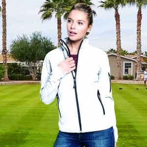 300gsm 95/5 PE Ladies Softshell Bowling Jacket - KB400BOWLS
