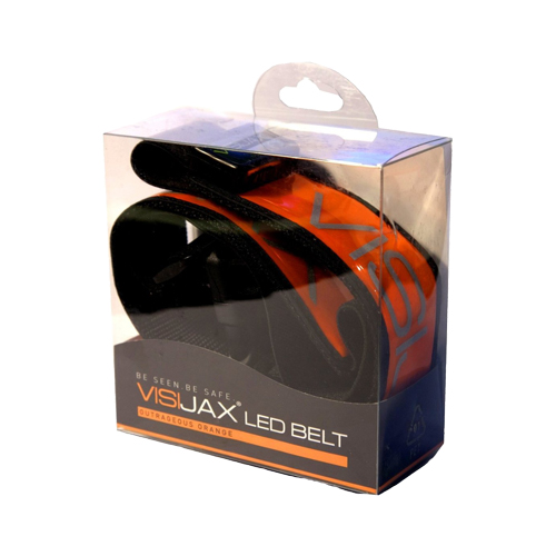Visijax LED Sports Belt - Orange