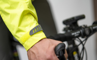 5. VISIJAX COMMUTER Jacket in Yellow - Sleeve
