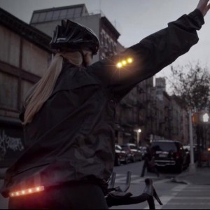 Visijax 'Commuter' LED Cycling Jacket with Indicators