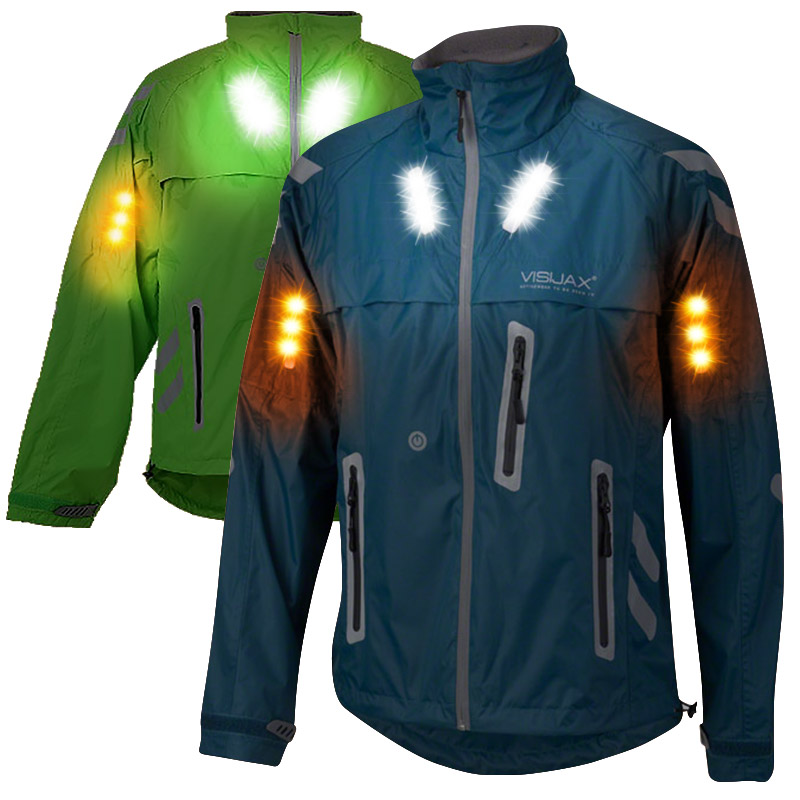 Led Hi Vis City Ace Indicator Cyclist Equestrian Jacket