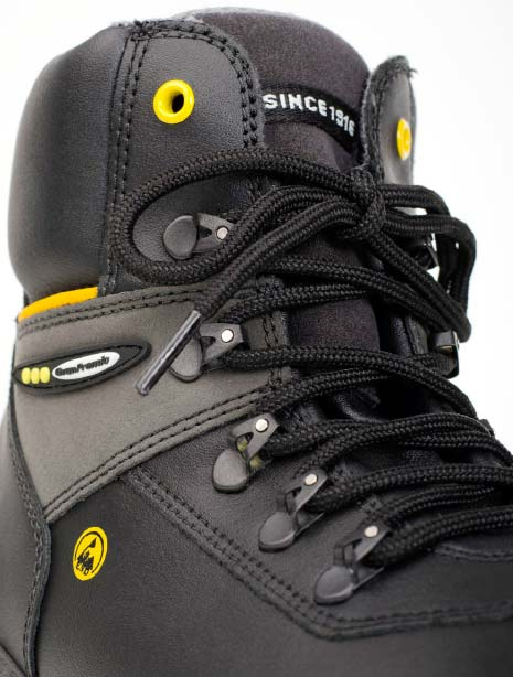 JALAS1828 JUPITER: UNBEATABLE Tough But Comfortable Gen. Purpose / Outdoor S3 Boot - closeup