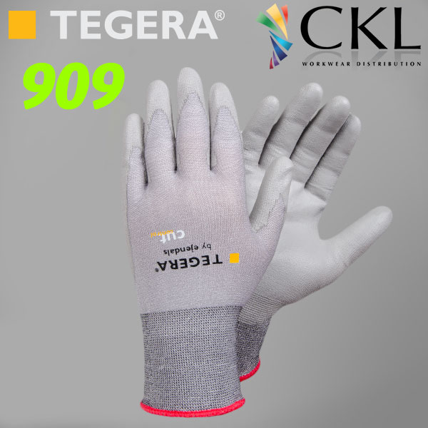 TEGERA909 SuperLight Cut3 Ergonomically Shaped Cut Resistant Glove