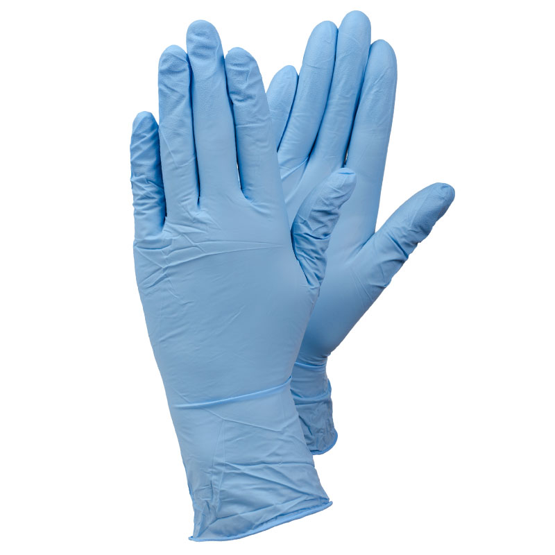 TEGERA84501 Disposable Nitrile Foodsafe Extra Grip Precision Gloves