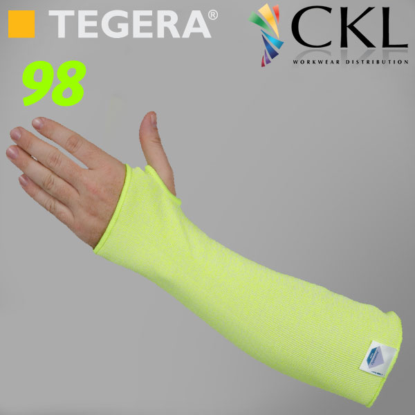 TEGERA®98: Dyneema® X-Long, Light Cut3 Sleeve Gloves