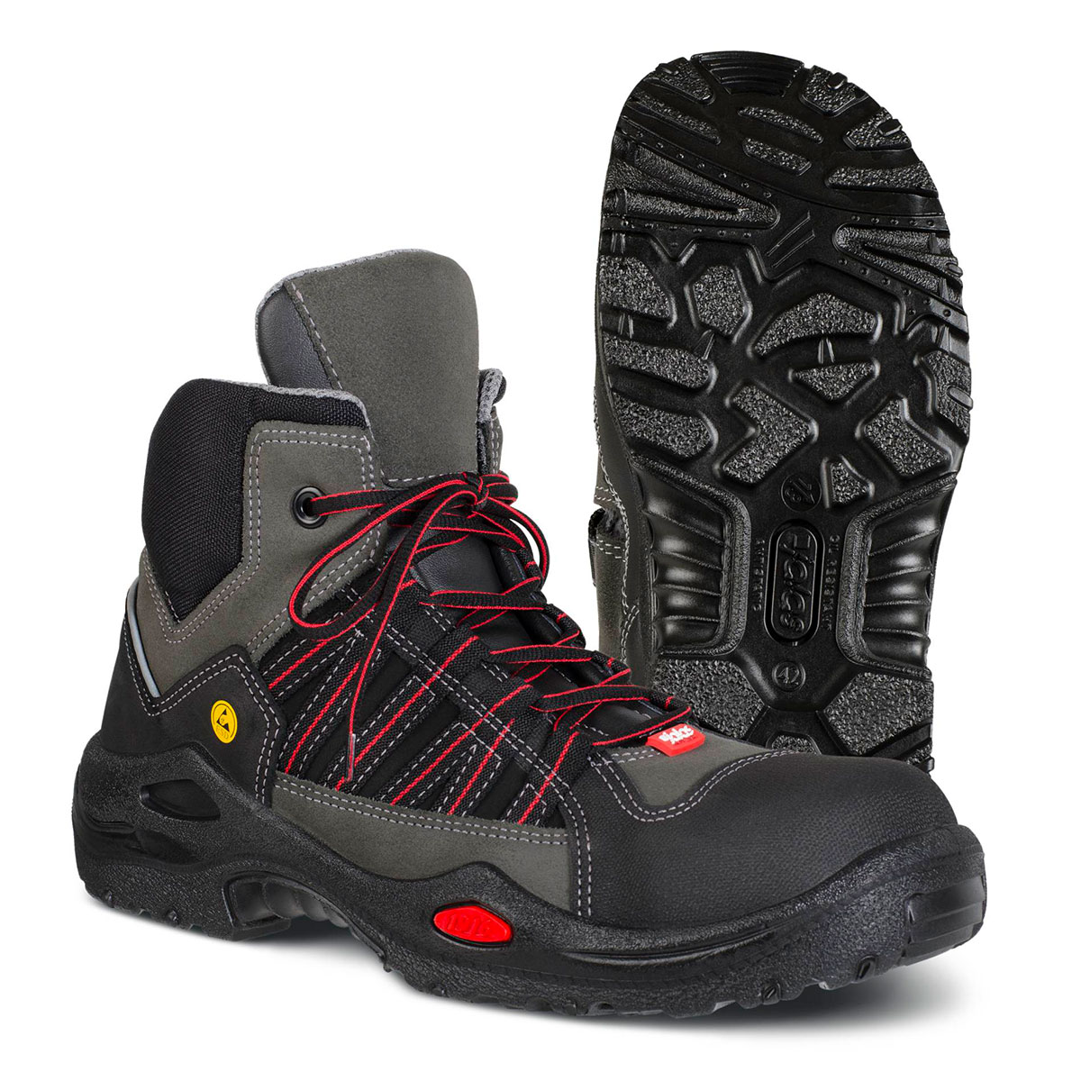 """JALAS® 1625 by Ejendals: """"E-SPORT"""" - Lightweight, Flexible & Innovative Gen. Purpose In/Outdoor S3 Full Safety Boot"""