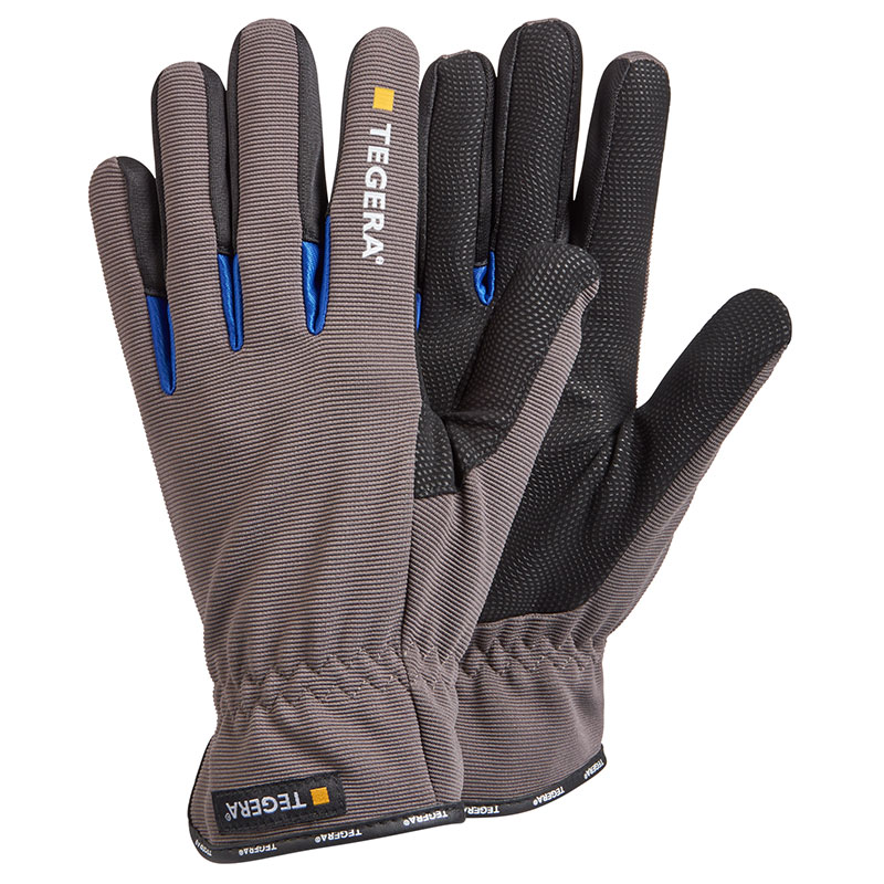 TEGERA414 Ergonomic Comfort Synth Leather Unlined Gloves
