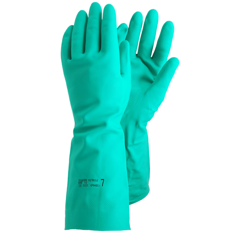 TEGERA® 48: Chem. Micro-Organism Nitrile (Foodsafe) Gloves