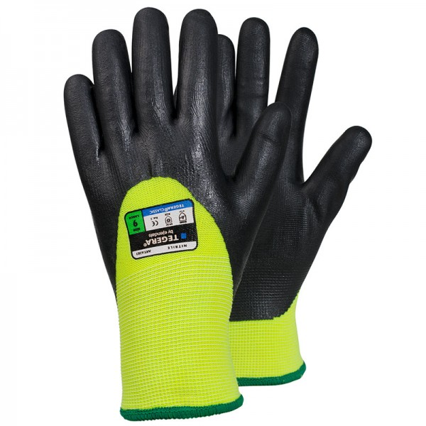 TEGERA®6283 by Ejendals: Synthetic glove, Nitrile Foam, 3/4 dipped, Cat. II for allround work