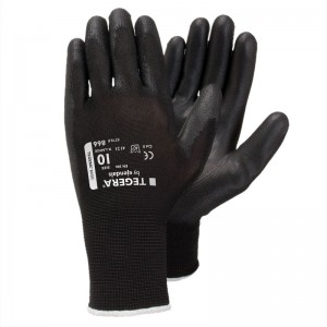 6 PACK - TEGERA866 PU CAT2 Comfort Synthetic Gloves