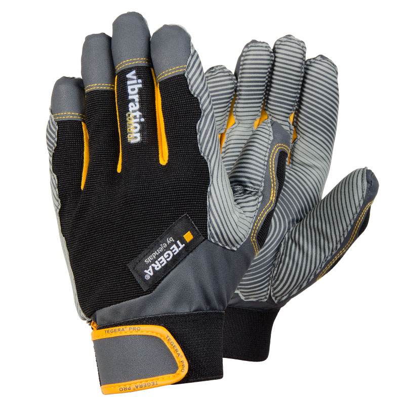 TEGERA9180 ANTI-VIBRATION CAT2 Reinforced Fingertips Gloves