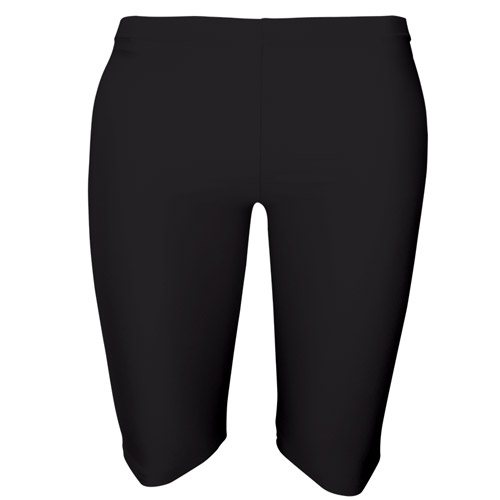 Girls' & Ladies' Hi-Stretch Shiny Dancing Shorts - DSTG01S-black