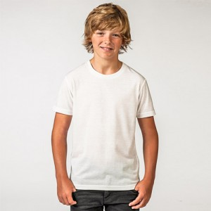 Kids Sublimation Tee-white