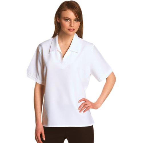 Bowling Blouse Open V-Neck