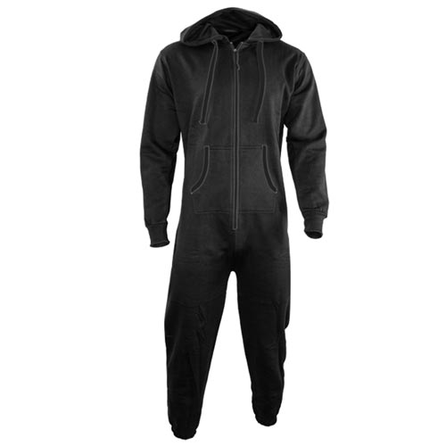 TopSport Hoody Onesie-black