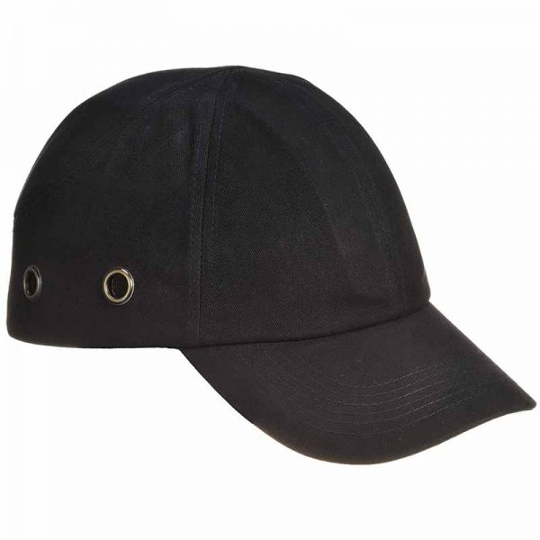 ABS Shell Long Peak Bump Cap - WHAA59-black