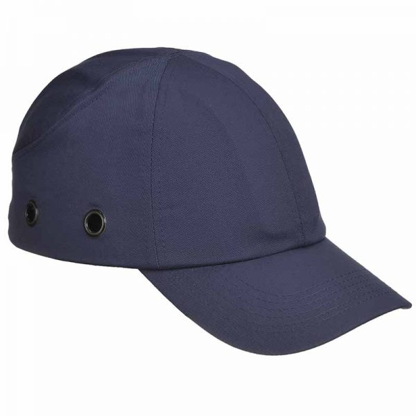 ABS Shell Long Peak Bump Cap - WHAA59-navy