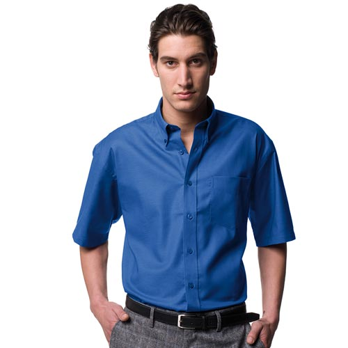 Ladies Easy-Care Oxford Blouse Short Sleeve-JSHA933-main