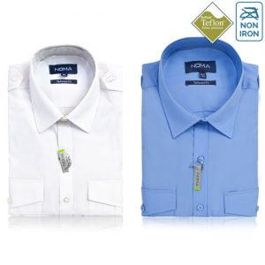 NSHA04T-Noma Men's Pilot Shirt S/S-ALL