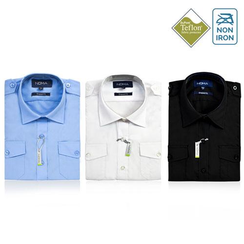 Noma Ladies Pilot Long Sleeve Shirt NanoTech Fabric - NSHL03