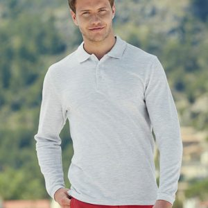 SPLPA-180g 100% Cotton Long Sleeve Premium Polo