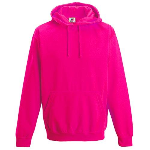 80/20PC Electric Hooded Raglan Sweats-TSA08_electric_pink
