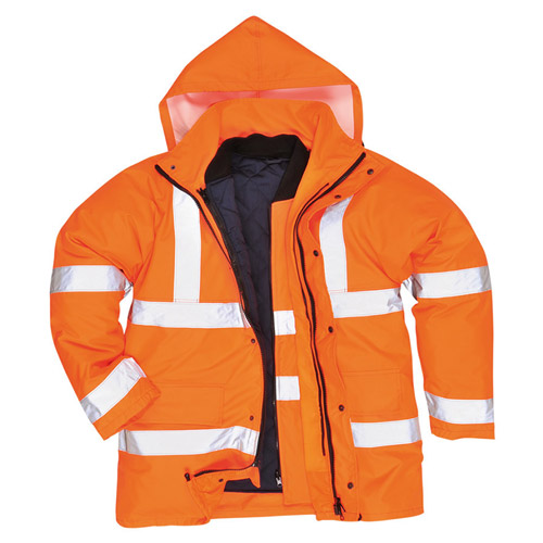Hi Vis Breathable Traffic Jacket GO/RT-WJAA34R-main