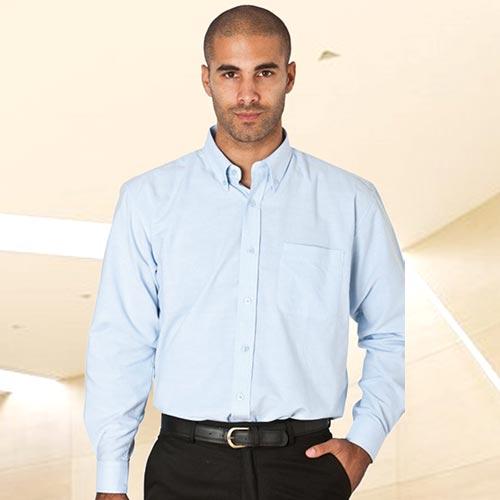 Oxford Shirt Long Sleeve-WSHA05-sky