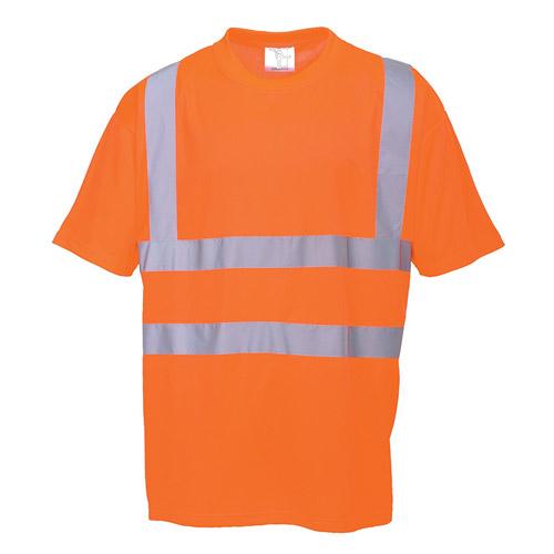 Hi Vis T-Shirt GO/RT-WTSA23R-orange
