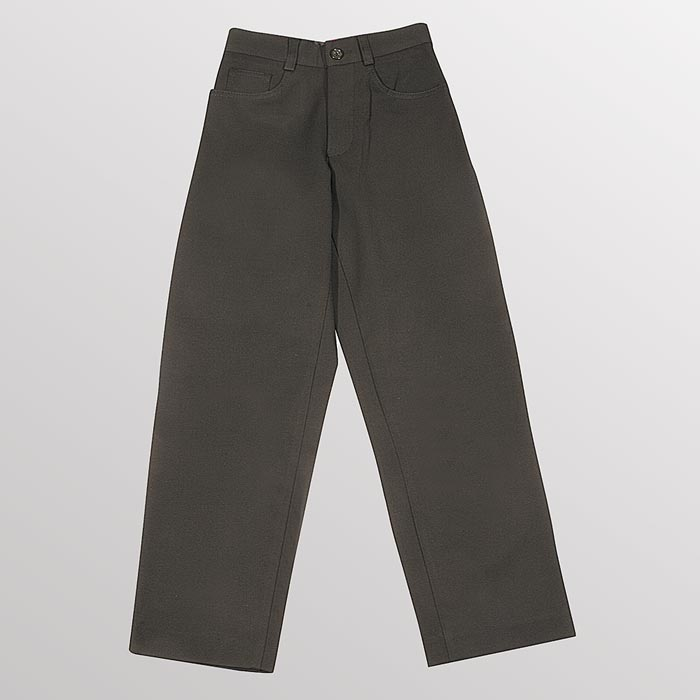 Jeans-Style Stretch Trousers - Secondary - CTRB13