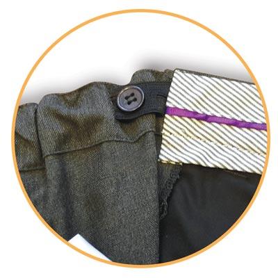 Boys Slim Fit Trouser - CTRB24-detail