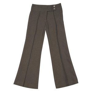 Girls' 2 Button Bootleg Trousers - CTRG82