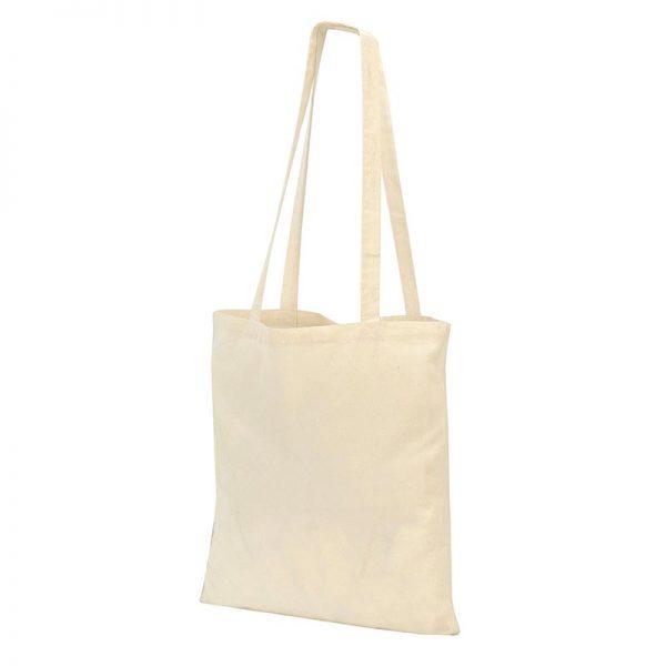 Guildford Cotton ShopperTote Shoulder Bag - GBA4112-natural