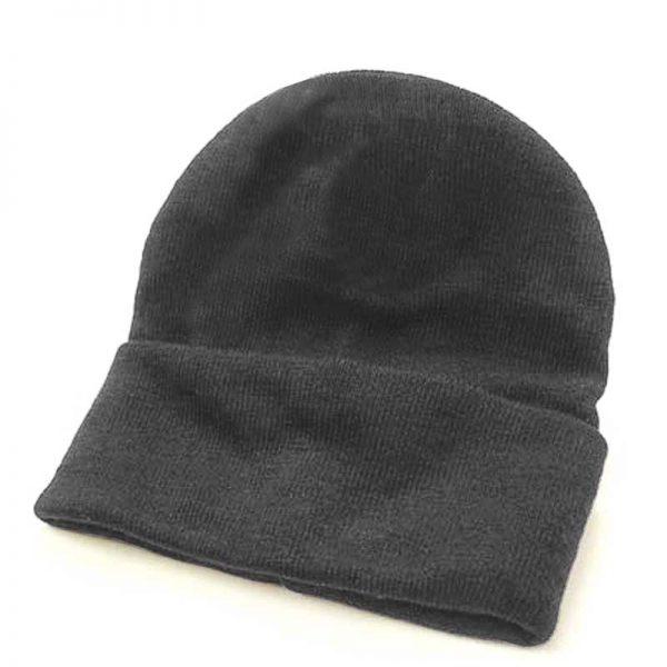 Fine Gauge Knitted Woolly Beanie Hat - GHAA02-green