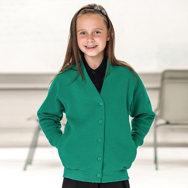 Girls' Sweatshirt Cardigan - JCK273