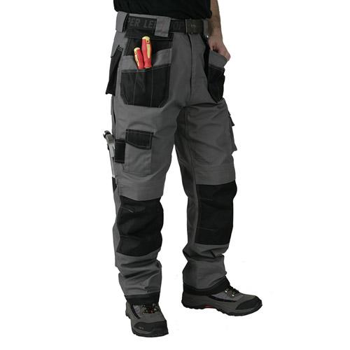 Canvas Premium Spec. Cargo Trouser - LCPNT210-grey