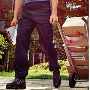 'Action II' Lined Work Trouser - RTRA331-navy