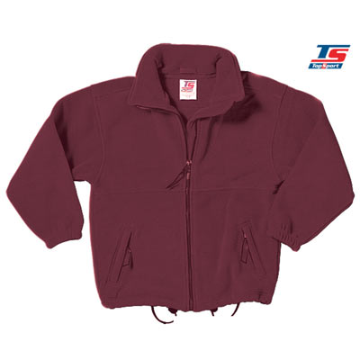 Gold Label Premium Polar Fleece - TFA01-burgundy