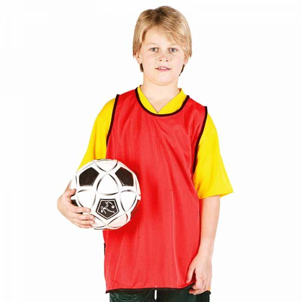 Football Bib - TFBK01-red