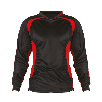 Kids Football Kit - TFKK01-black-red