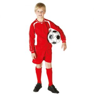 Kids Football Kit - TFKK01 - red