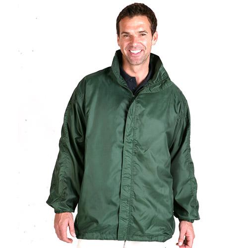 College Jacket (Showerproof) - TJAA01-bottle-green