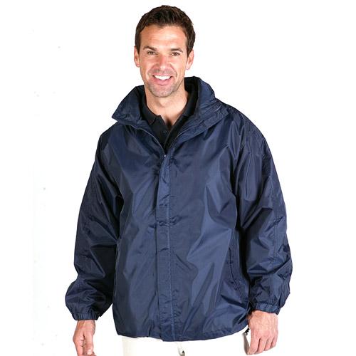 College Jacket (Showerproof) - TJAA01-navy